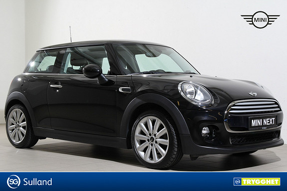 MINI Cooper D aut Skinn/Bluetooth/HarmanKardon/DAB/17