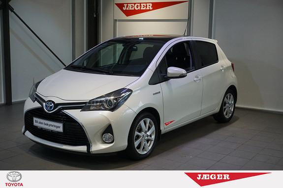 Toyota Yaris 1,5 Hybrid Style  2014, 17100 km, kr 189000,-