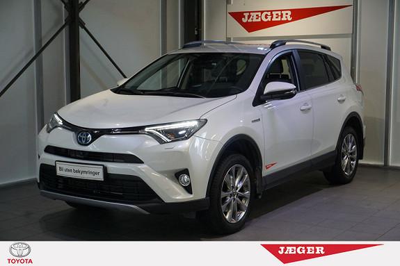 Toyota RAV4 Hybrid 4WD Executive Memory seter- Hengerfeste.-  2016, 20600 km, kr 459000,-
