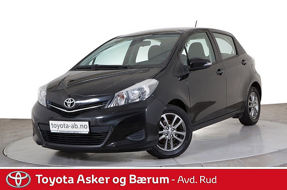 Toyota Yaris 1,33 Active  2014, 51147 km, kr 159000,-