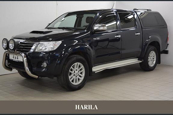 Toyota HiLux D-4D 171hk D-Cab Aut 4wd SR+  2012, 107267 km, kr 319000,-