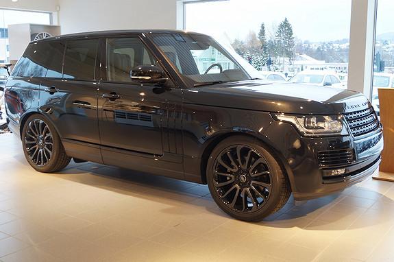 Land Rover Range Rover 3,0 TDV6 Vogue Black Pack