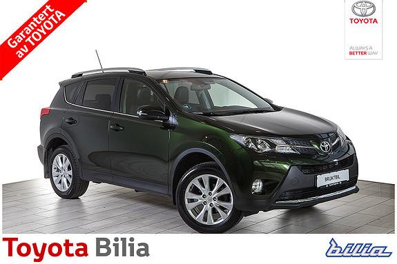 Toyota RAV4 2,0 4WD Multidrive S Executive bensin , automat, skinn  2013, 62191 km, kr 329000,-