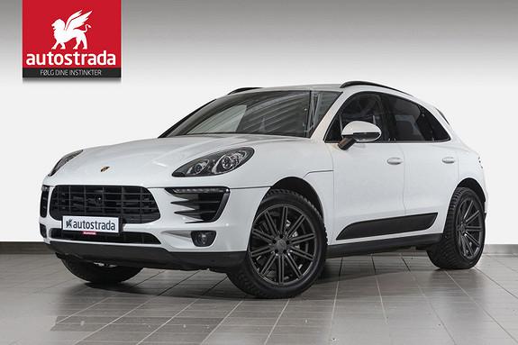 Porsche Macan S Diesel 211hk Ad.cruise/Pano/webasto/18-vei