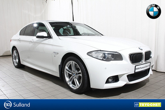BMW 5-serie 520d xDrive 190hk aut M.Sport-Skinn-Krok-r.kam-Navi-DAB