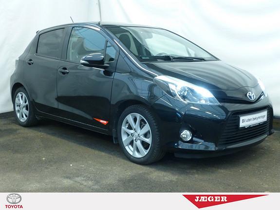 Toyota Yaris 1,5 Hybrid Style e-CVT  DAB+! GLASSTAK!  2012, 57800 km, kr 159000,-