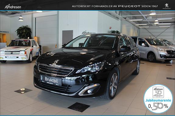 Peugeot 308 SW 1,2 PureTech 130hk Allure Flott bil med mye utstyr!  2014, 53000 km, kr 199000,-