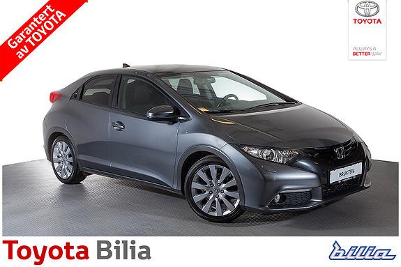 Honda Civic 1,8 Executive  2012, 55898 km, kr 169900,-