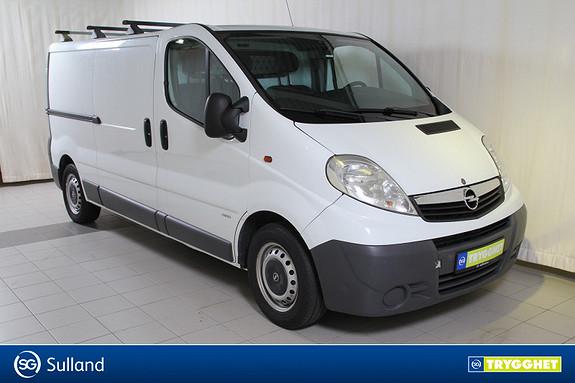 Opel Vivaro 2,5 CDTI lang