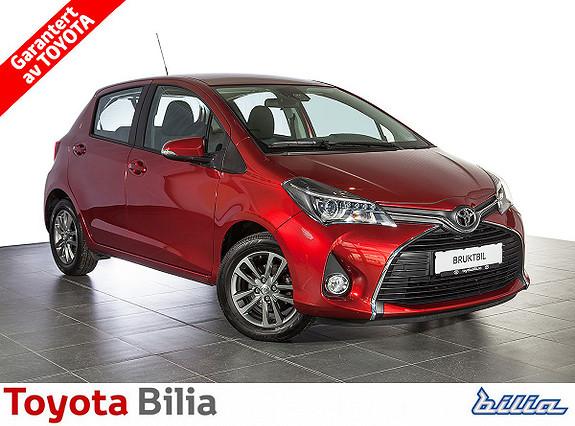 Toyota Yaris 1,33 Active S manuellgir, 99 hk, navi, cruisecontrol,  2015, 12311 km, kr 164900,-