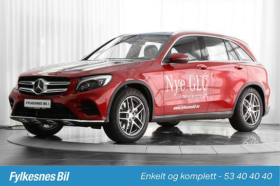 Mercedes-Benz GLC 220d 4MATIC aut Dab+ Hengerfeste, Navi, ILS  2016, 28000 km, kr 679900,-
