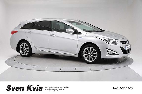 Hyundai i40 1.7 CRDI Premium DAB+, Navi, Ryggekamera, Skinn.  2015, 55600 km, kr 239000,-