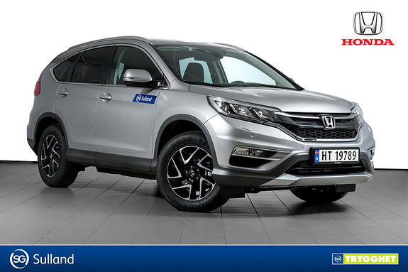 Honda CR-V 1,6 i-DTEC 160hk Elegance Pluss 4WD AT INNFELLBAR KROK