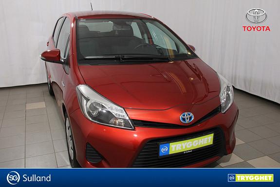 Toyota Yaris 1,5 Hybrid Active Lav km stand