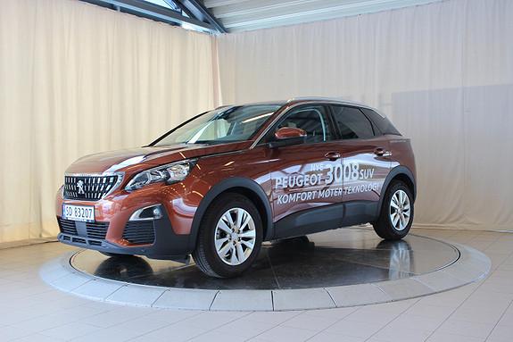 Peugeot 3008 Active 1,2 PureTech 130hk  2017, 10200 km, kr 319000,-