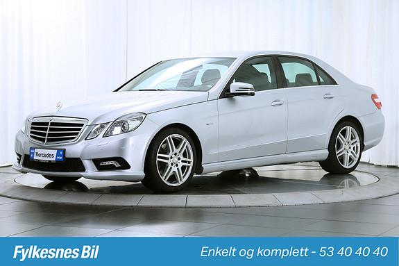Mercedes-Benz E-Klasse E220 CDI Avantgarde aut AMG  2010, 99800 km, kr 239900,-