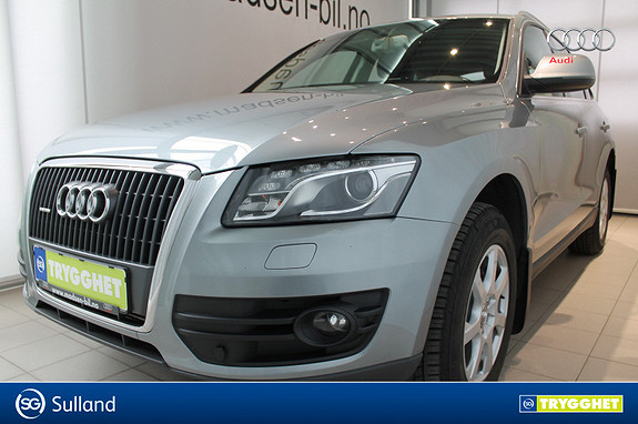 Audi Q5 2,0 TDI 170 hk quattro S tronic HENGERFESTE, SKINN/ALC
