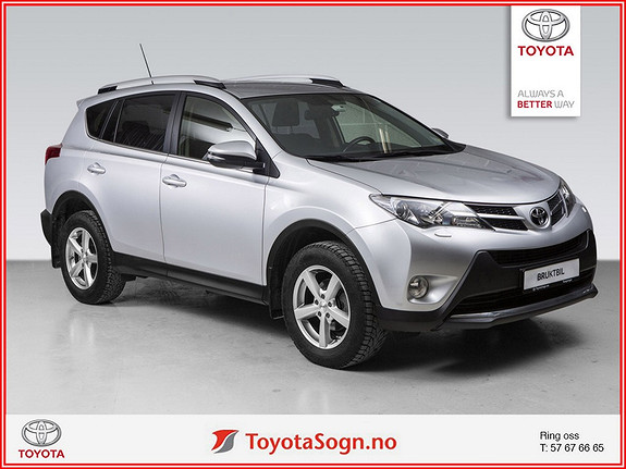 Toyota RAV4 2,0 D-4D 4WD Active Style HENGERFESTE  2015, 61600 km, kr 328000,-
