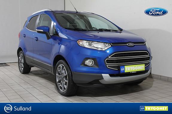 Ford Ecosport 1,0 125hk Titanium DAB-NAVIGASJON-