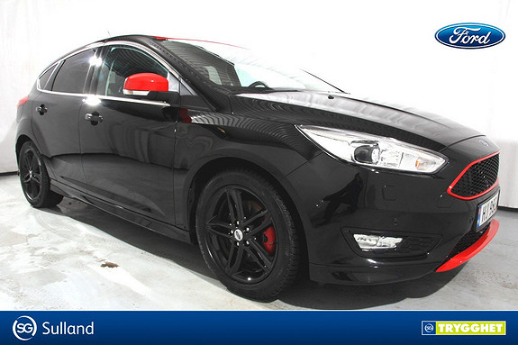 Ford Focus 1,5 EcoBoost 182hk Red/Black Edition