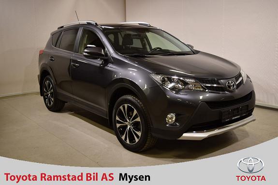 Toyota RAV4 2,0 D-4D 4WD 71'N Editon  - Dieselvarmer m. GSM styring  2015, 48500 km, kr 349000,-