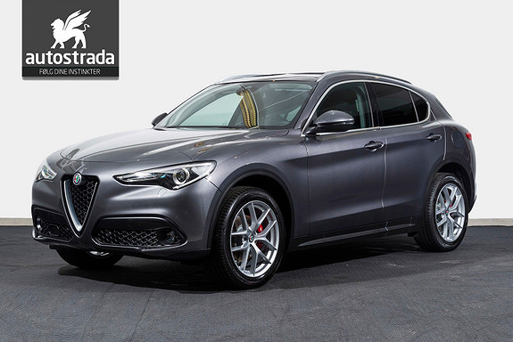 """Alfa Romeo Stelvio 2.2d 210hk Q4 Luksuspakke 20"""""""