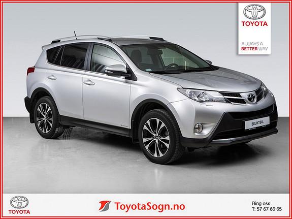 Toyota RAV4 2,0 D-4D 4WD Executive HENGERFESTE  2015, 62217 km, kr 349000,-