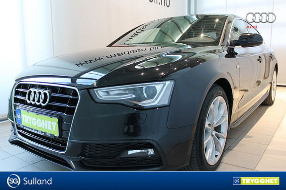 Audi A5 Sportback 2,0 TDI 177hk S-LINE WEBASTO 150000KM GARANTI