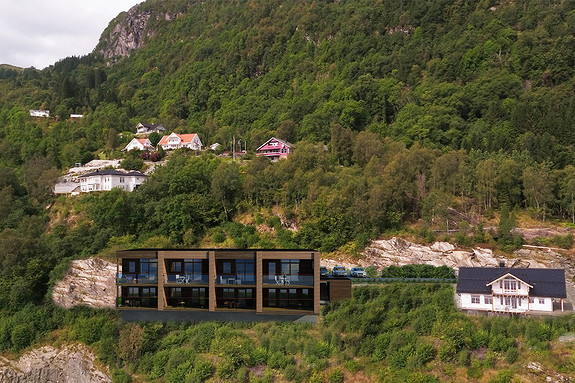 Panoramautsikt i Mallasvika – kun ei leilegheit igjen