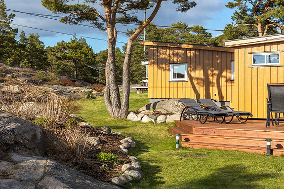 60-tallsperle, privat og usjenert beliggende i Helleskilen, båtplass -Kirkøy