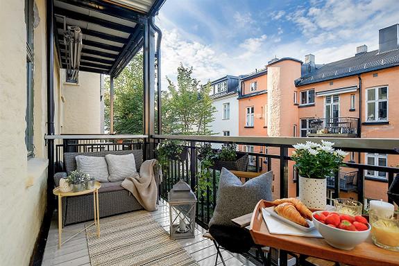 3-roms leilighet - St. Hanshaugen-Ullevål - Oslo - 5 150 000,- Nordvik & Partners