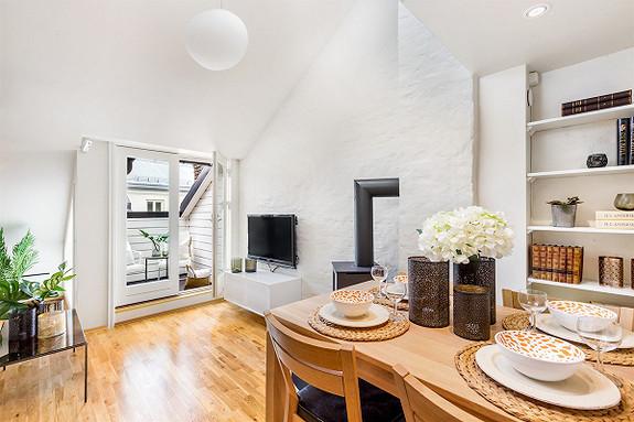 4-roms leilighet - St. Hanshaugen-Ullevål - Oslo - 4 900 000,- Nordvik & Partners