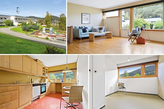 Fyllingsdalen - Innholdsrikt rekkehus over to plan i et barnevennlig og attraktivt område. Vestvendt terrasse/hage med gode solforhold!