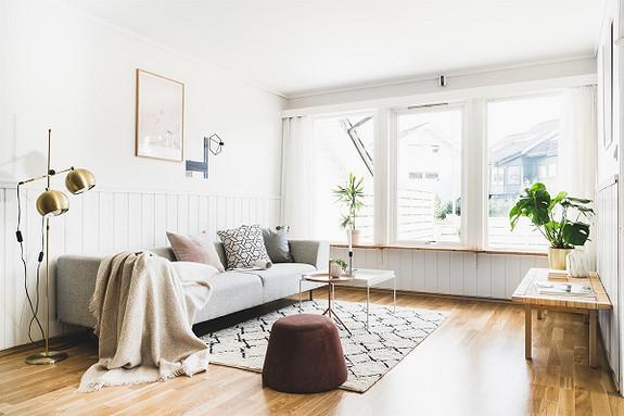 Nydelig 3-roms leilighet i populære Midtunhaugen med garasjeplass, stort uteområde og gode kvaliteter!