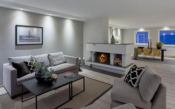 Sjeldent lekker og stor 4-roms leilighet - Cicignon, sentrum