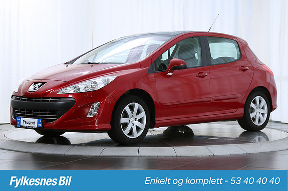 Peugeot 308 1,6 HDi Confort Pack 93 hk Panorama Bluetooth Isofix  2011, 61400 km, kr 109900,-