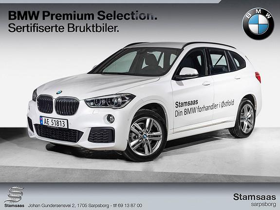 BMW X1 xDrive18d 150hk aut M-sport l Navi l HiFi l Hengerfeste