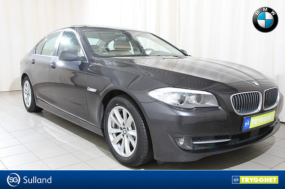 BMW 5-serie 530d xDrive Automat Komfortstol, soltak, head up+