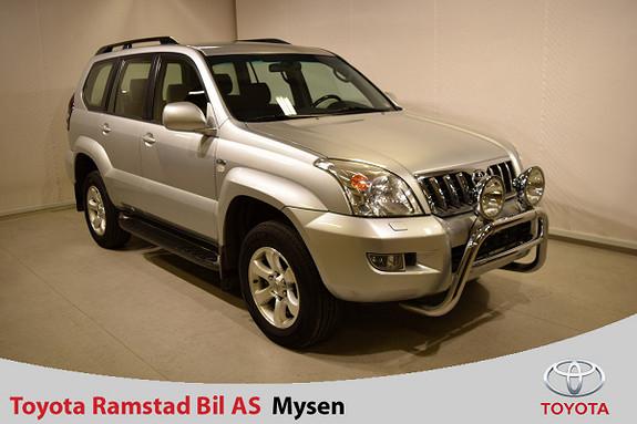 Toyota Land Cruiser 3,0 D-4D VX Aut  2006, 209300 km, kr 269000,-