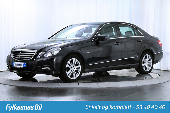 Mercedes-Benz E-Klasse E220 CDI Avantgarde aut. Meget bra Utstyrt!  2010, 138500 km, kr 249900,-