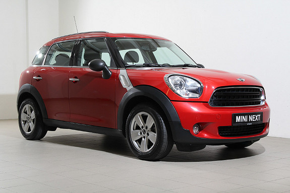 MINI Countryman One D DAB+-Navi-Bluetooth-Lyspakke-Xenon-5seter++