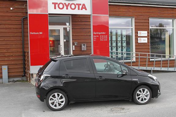 Toyota Yaris 1,5 Hybrid Style e-CVT  2012, 28240 km, kr 169000,-