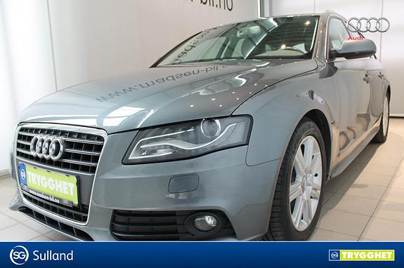 Audi A4 2,0 TDI 143 hk multitronic CRUISE, NAVI, HENGERFESTE