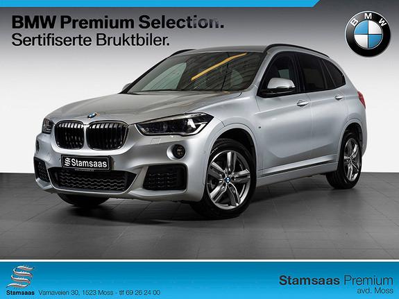 BMW X1 xDrive18d 136hk aut M SPORT, MEGET VELUTSTYRT! NORSK!