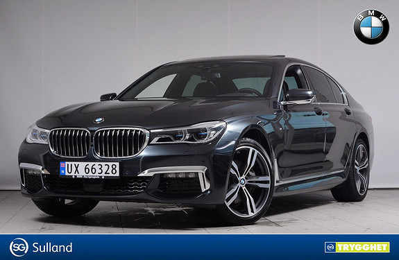 BMW 7-serie 730d xDrive M-Sport, Laserlys, Driving Assistant Plus++