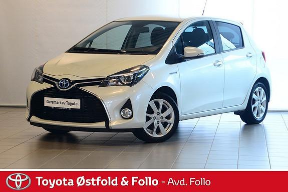 Toyota Yaris 1,5 Hybrid Style facelift, DAB+  2014, 64139 km, kr 165000,-