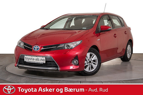 Toyota Auris 1,8 Hybrid E-CVT Active  2013, 71290 km, kr 189000,-