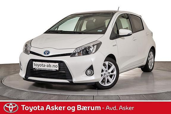 Toyota Yaris 1,5 Hybrid Style e-CVT  2014, 31400 km, kr 179000,-