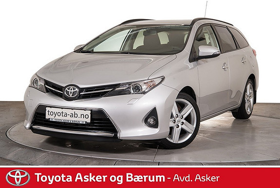 Toyota Auris Touring Sports 1,33 Style  2014, 79700 km, kr 179000,-
