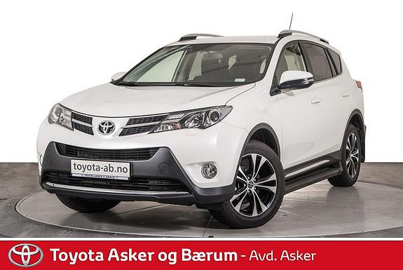 Toyota RAV4 2,0 D-4D 2WD Active Style  2014, 10700 km, kr 265000,-